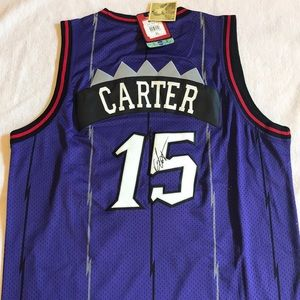 Autograph Edition, Throwback  Vince Carter Jersey